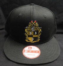 d113dfc3e46 Alpha Phi Alpha Black New Era NE400 Snap Back with Crest Patch
