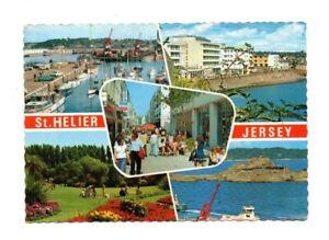 Channel Islands - Jersey, St. Helier - Multiview Postcard Franked 1981