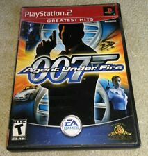 James Bond 007 in Agent Under Fire Greatest Hits PlayStation 2 Tested Complete