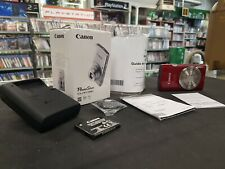 Canon PowerShot ELPH 180 (Complete w/ Box) [Red]