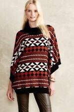 NEW Anthropologie Aztec Poncho Size XS/S XS Small