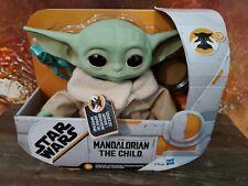 "Star Wars Mandalorian The Child 7.5"" Baby Yoda Electronic Talking Plush*IN HAND"