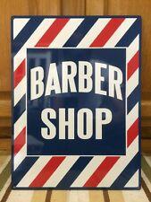 BARBER SHOP Metal Decor Shave Oster Clipper Hair Salon Polish Vintage Style 3