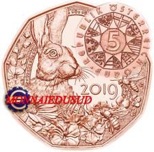 5 Euro Commémorative Autriche 2019 - Lapin de Pâques