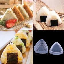 Sushi Maker Rice Ball Onigiri Mold Cutter Triangle Mould Kitchen Tools LA