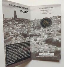 """Espagne 2 euro 2021 """"VILLE HISTORIQUE TOLEDO"""" PP/PROOF"""