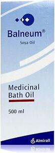 Balneum Medicinal Bath Oil 500ml - Genuine UK Stock - FREE POSTAGE