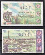 España Loteria Nacional edición facsímil año 1962 (DI-290)