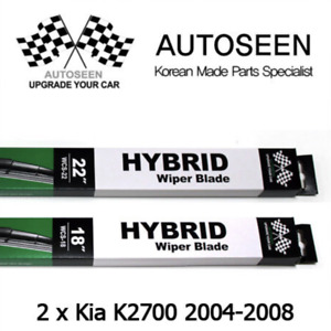 For KIA K2700 2004~2008 HYBRID WCS-18 & WCS-22 (pair) Windscreen Wiper Blades