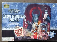 New sealed 50 piece kids Museum Collection Discoveries In Time Medieval puzzle
