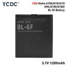 Original BL6F BL-6F Battery For Nokia N78 N79 6788 6788I N95 8G 3.7V 1200mAh 1C
