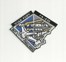 Babylon 5 TV Series Star Fury FA-23E Logo Embroidered Patch - NEW - US Seller