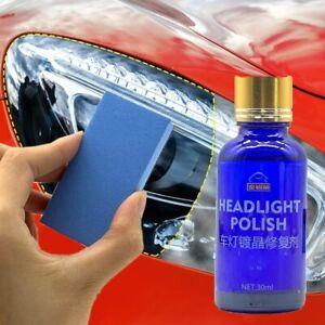 News 30ML Car Headlight Repair Coating Solution Repair Kit Oxidation Rearview