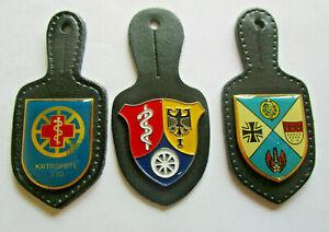 3 x Brustanhänger/Verbandsabzeichen Sanitäter Nr. 210