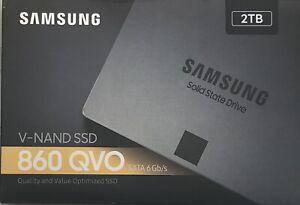 Samsung - 860 QVO 2TB Internal SATA Solid State Drive - Sealed (MZ-76Q2T0B/AM)