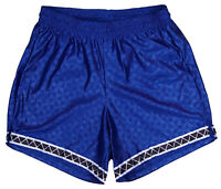 Blue Polyester Triangle Soccer Shorts by Don Alleson - Men's 2XL