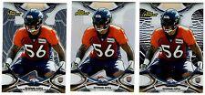 Shane Ray Denver Broncos 3-card RC Refractor lot non-auto