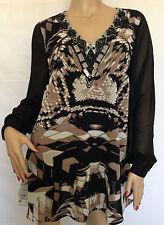 Tunic, Kaftan Regular Collarless Tops & Shirts for Women