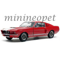 SOLIDO S1802902 1967 SHELBY MUSTANG GT 500 1/18 RED with WHITE STRIPES
