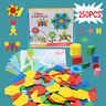250 Pcs Learning Wooden Pattern Puzzle Educational Blocks Toy Play Toddler Gifts