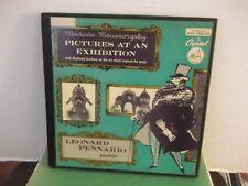 "Leonard Pennario,Cap.,""Pictures At An Exhibition"",US,10""LP,mono,box set,rare,M"