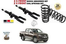 für VW Amarok 2.0 Pickup 2010- > 2x vorderen Stoßdämpfer Set + 2x Schraubenfeder