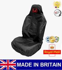 HONDA RECARO CAR SEAT COVER PROTECTOR SPORTS BUCKET HEAVY DUTY BLACK / NEW