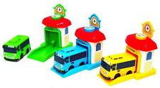 3PCS Kids Plaything Toy Car Bus Tayo Shooting Garage Set Rogi Rani Character vee