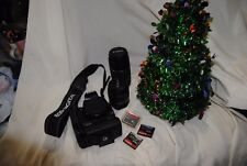 Canon EOS Rebel xti Camera with 18-55mm lens, 75-300mm, BG-E3 Battery Grip, 3 SD
