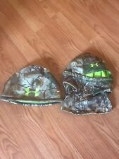 Under Armour Scent Control Realtree Xtra Hunting Beanie And Balaclava