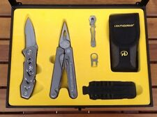 Leatherman 831075 Multi-tool Charge SLV and C303 Knife COSTCO Limited Edition