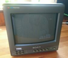 """Broadcast Monitor Sony PVM 9220MW 9"""" Gaming, Vintage, Video Editing #"""
