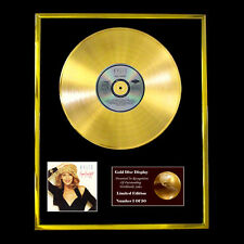 KYLIE! ENJOY CD GOLD DISC RECORD LP DISPLAY FREE P&P!