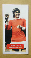 Manchester United / GEORGE BEST Euro Footballer of Yr 1968 - Score UK trade card