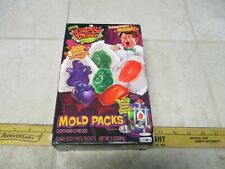 Jakks Pacific Creepy Crawlers Incredible Edibles Mold Packs Gummy Body Parts