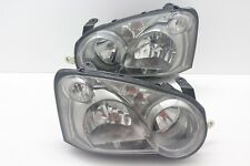 JDM Subaru Impreza WRX Rev8 GDB GDA Front Smoke Headlights Light Lamp 2004-05 V8