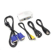 Unterstützung NTSC PAL VGA zu TV AV RCA Signal Adapter Konverter Video Switch RA