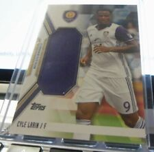 2017 Topps Mls Soccer Cyle Larin Jumbo Jersey Relic 4/50