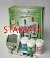 Blood Monitoring System EasyTouch GCHb 3 in 1 For Glucose Cholesterol Hemoglobin