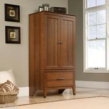 Armoire Wardrobe Closet Bedroom Furniture Cabinet Dresser Washington Cherry New