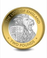 New 2021 QUEENS BEASTS £2 COIN Lion of England Low Mintage Sold Out