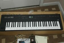 Roland Jv-30 Expandable Synthesizer keyboard Piano, for parts not working