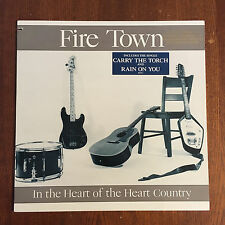 Fire Town 'In The Heart Of The Heart Country' 1987 US PROMO Vinyl LP Butch Vig