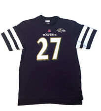 Mens NFL Baltimore Ravens #27 Ray Rice Team Apparel Printed shirt Sz. XL