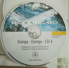 Mercedes Navigation CD AUDIO 30 APS  CD4 ITALIA ÖSTERREICH SCHWEIZ 2006 V 9.0