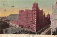 Postcard Broad Street Station Philadelphia PA