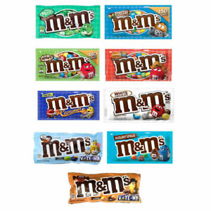 M&M's USA White Chocolate / Caramel / Pretzel / Peanut Butter Crispy You Choose