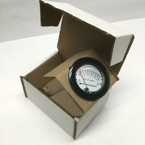Dwyer MP-50MM Mini-Photohelic Differential Pressure Gauge Switch 0-50mm of Water