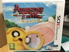 Adventure Time Finn & and Jake Investigations 3DS Nintendo Game NEW & SEALED