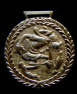 1972 Italy DISNEY rare golden Olympics medal GOOFY